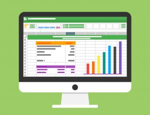 Excel spreadsheet data analytics